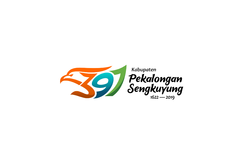 Portofolio Jasa Desain Logo  pemerintahan Untuk 397 Kabupaten Pekalongan