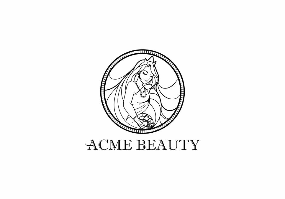 Portofolio Jasa  Desain logo kecantikan untuk acme beauty
