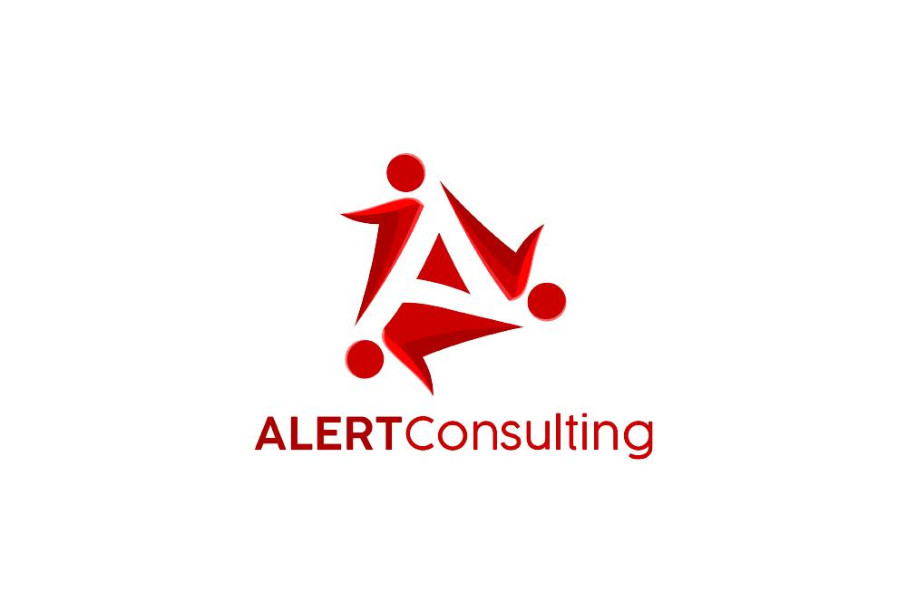 Portofolio Jasa Desain Logo ALERT consulting Untuk ALERT consulting