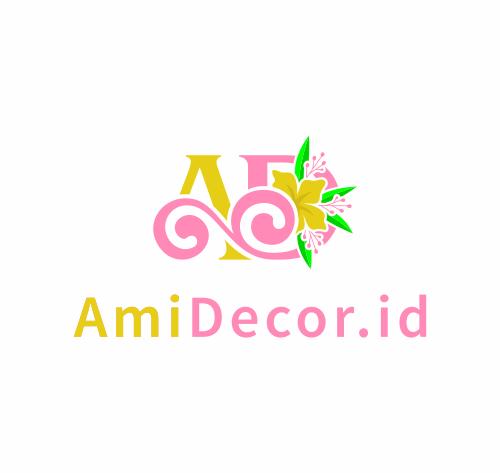 Portofolio Jasa Desain Logo Wedding Decoration Untuk AmiDecor