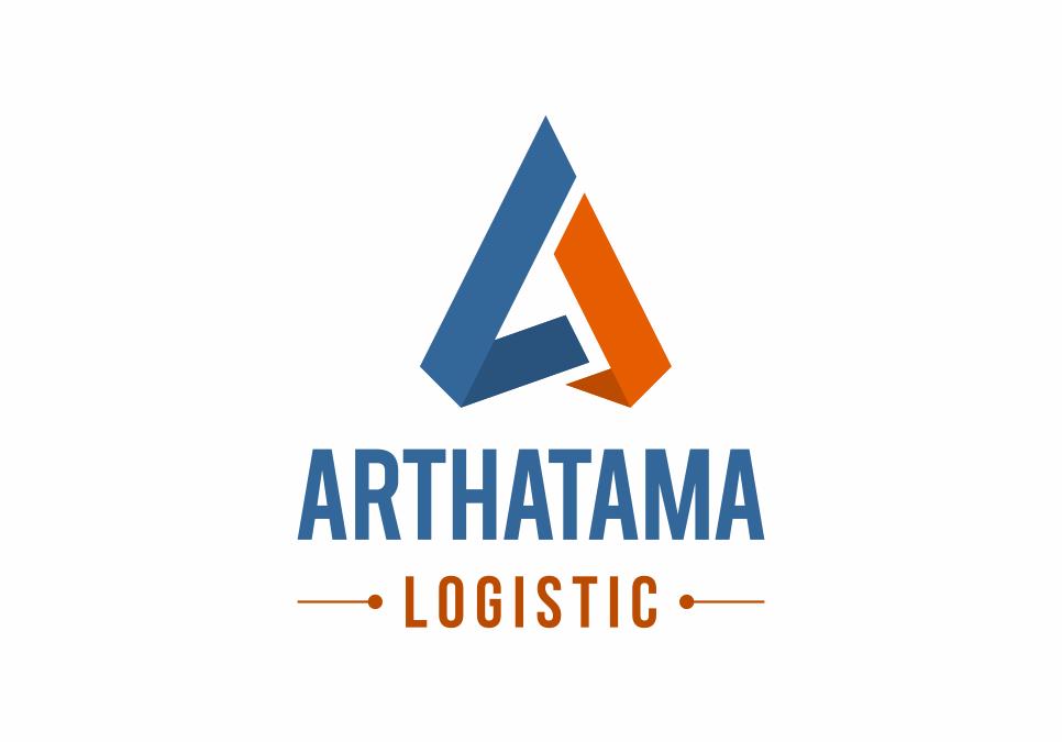 Portofolio Jasa Desain Logo ekspedisi Untuk arthatama logistic