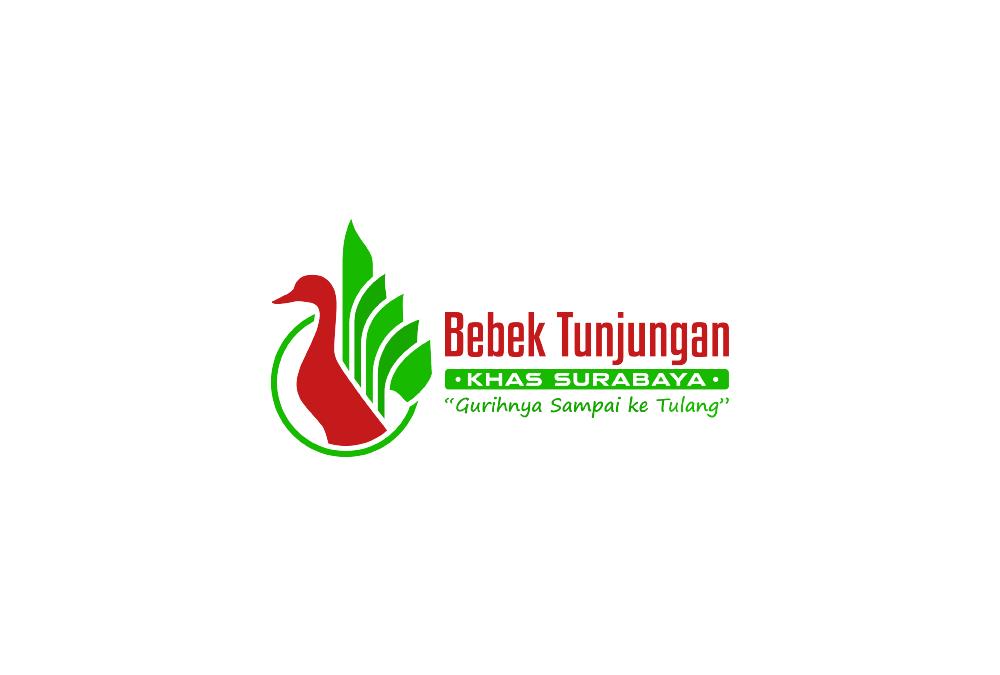 Portofolio Jasa Desain Logo Untuk Bebek Tunjungan khas Surabaya