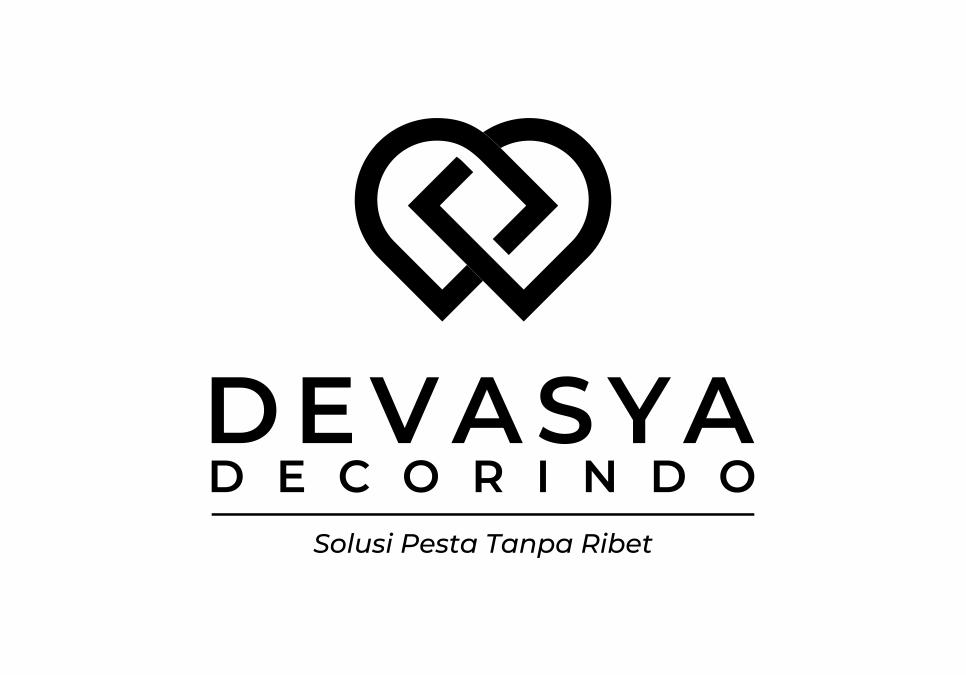 Portofolio Jasa Desain Logo Dekorasi, Penyewaan Alat Pesta Dan Wedding Organizer Untuk Devasya Dekorasi