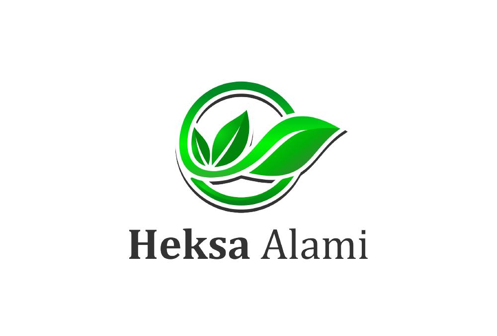 Portofolio Jasa Desain Logo Suplemen Herbal Untuk Heksa