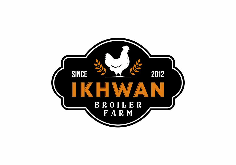 Portofolio Jasa Desain Logo Peternakan Untuk Ikhwan Ps (Poultry Shop)