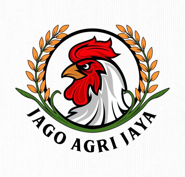 Portofolio Jasa Desain Logo  Penjualan produk2 hasil pertanian dan peternakan untuk Jago Agri Jaya