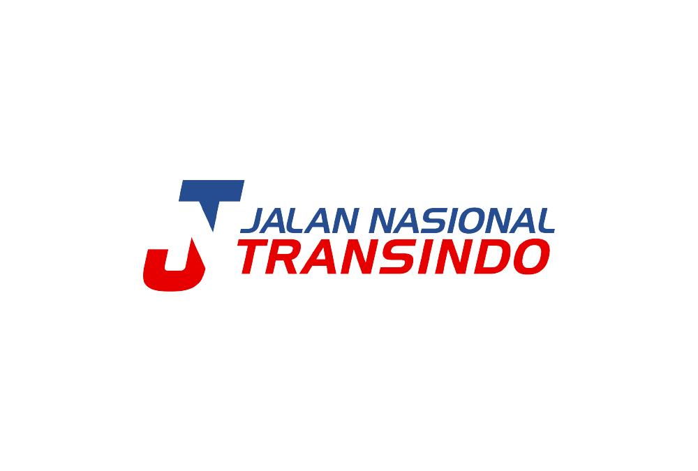 Portofolio Jasa Desain Logo ekspedisi / kurir untuk Jalan Nasional Transindo