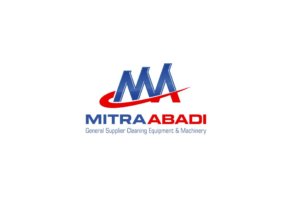 Portofolio Jasa Desain Logo supplier /distributor alat kebersihan dan jasa kebersihan Untuk CV.Mitra Abadi