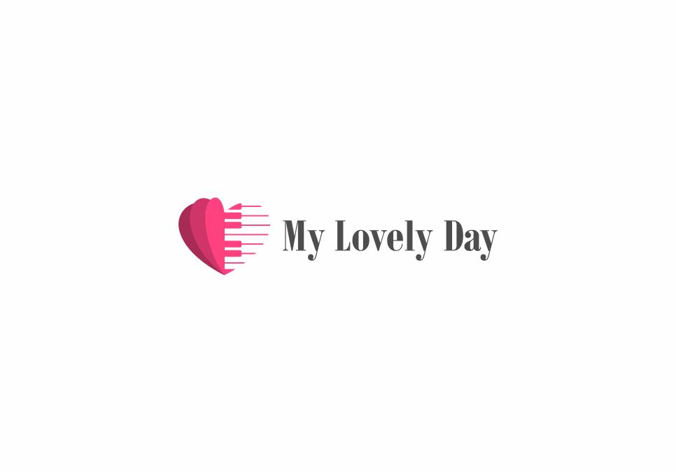 Portofolio Jasa  Desain Logo Seni Musik dan tutorial ttg musik Untuk My Lovely Day