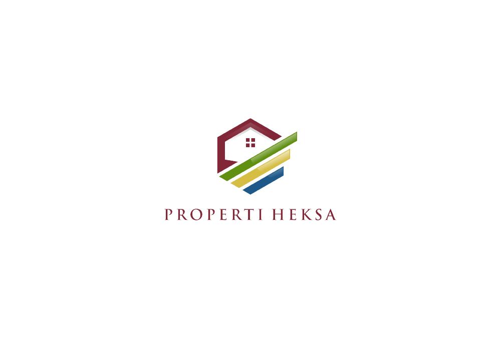 Portofolio Desain Logo Jasa untuk properti Heksa