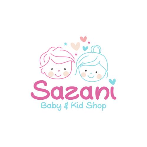 """Portofolio Jasa Desain Logo Toko Penjualan Perlengkapan, baju bayi dan anak Untuk SAZANI BABY SHOP"""""""