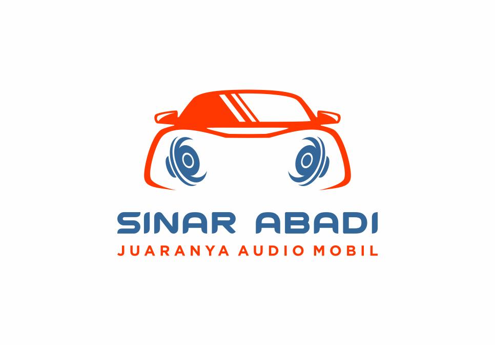 Portofolio Jasa  Desain Logo Installer dan distributor perangkat audio dan aksesories mobil Untuk Sinar Abadi