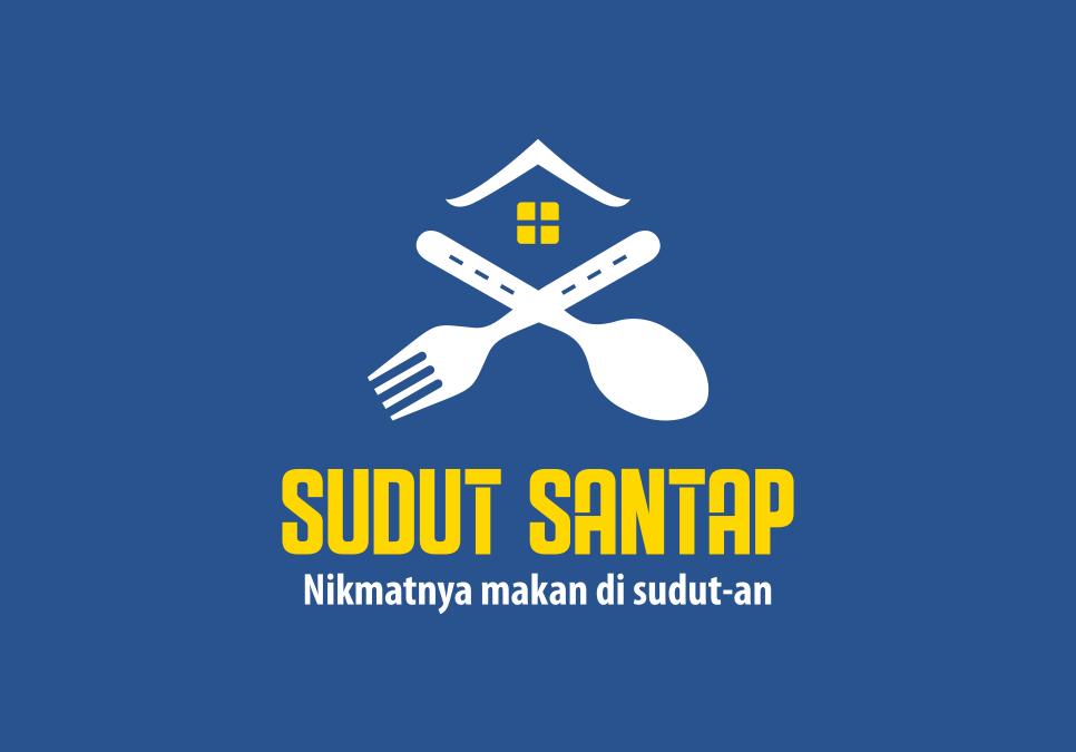 Portofolio Jasa Desain Logo kuliner Untuk Sudut Santap