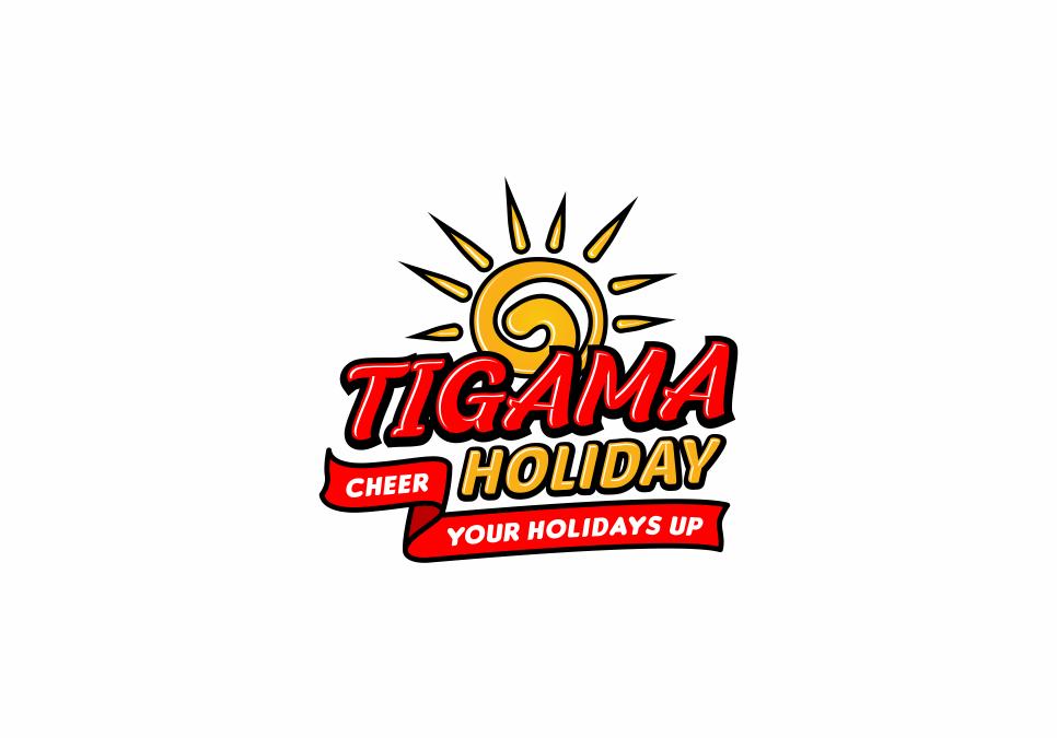 Portofolio Jasa  Desain Logo PARIWISATA untuk TIGAMA HOLIDAY