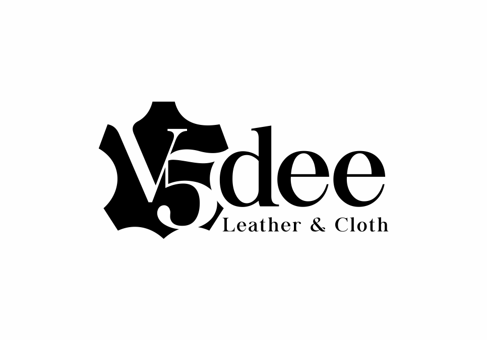 Portofolio Jasa Desain Logo V5dee leather & cloth