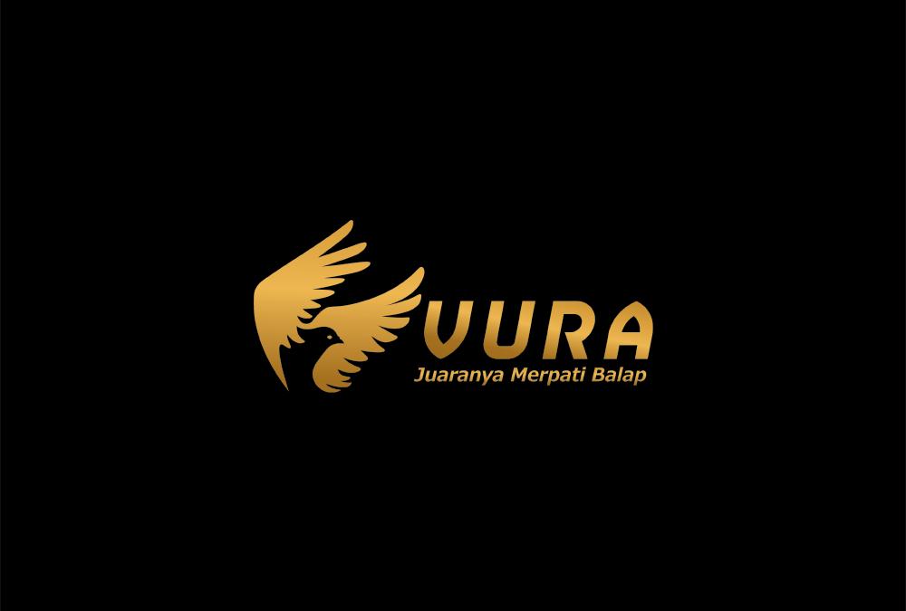Portofolio Jasa Desain Logo Nutrisi Burung Merpati Balap (Racing Pegeon) Untuk VURA