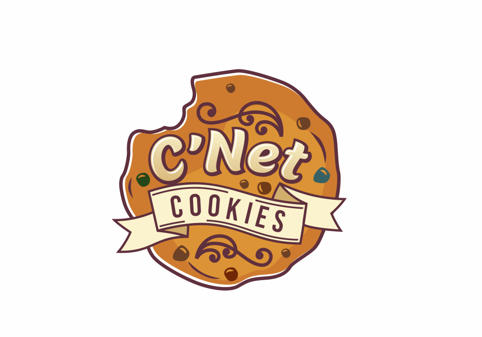 Portofolio Jasa Desain Logo Toko Kue untuk C'Net Cookies