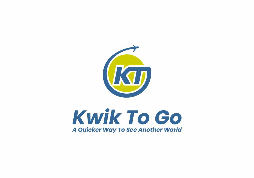 Portofolio Jasa Desain Logo Tour and Travel Untuk Kwik to go