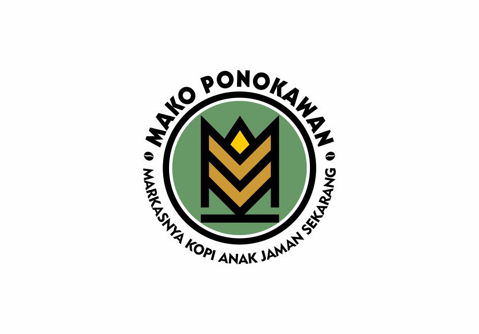 Portofolio Jasa Desain Logo Cafe Untuk Mako Ponokawan