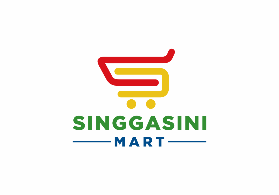 Portofolio Jasa Desain Logo Minimarket Untuk Singgasini Mart