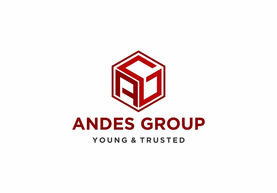 Portofolio Jasa Desain logo konsultan, kontraktor buildiang design untuk Andes Group