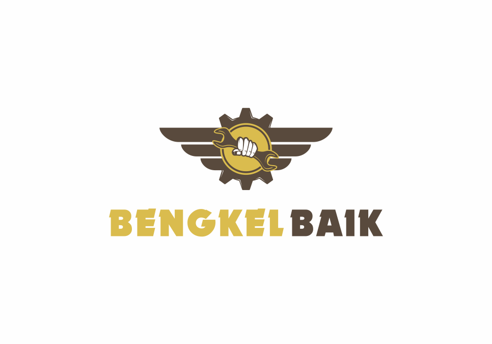 Portofolio Jasa Desain logo Jaringan bengkel motor (saat ini, jangka panjang juga bengkel mobil) untuk Bengkel Baik.