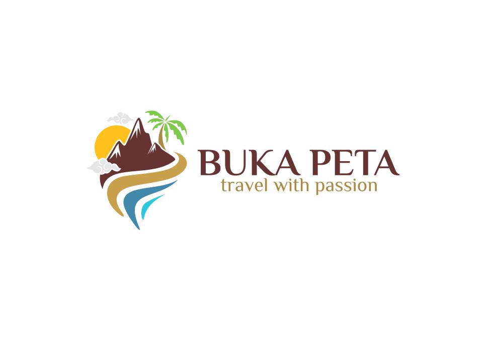Portofolio Jasa Desain Logo TRAVEL WISATA untuk BUKA PETA