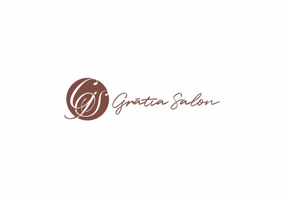 Portofolio Jasa Desain logo  salon (hair do, make up, pedicure, manicure, reflexy, body massage dan spa) untuk Gratia Salon