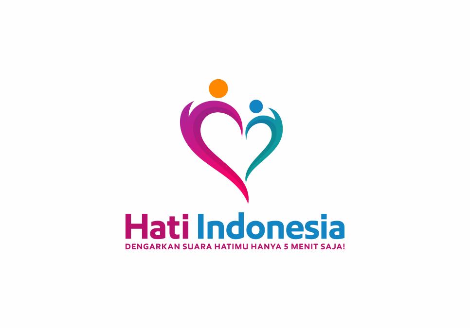 Portofolio Jasa  Desain Logo training untuk Hati Indonesia