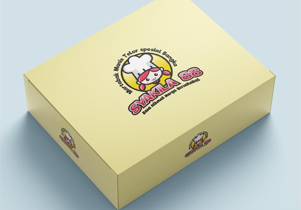 Portofolio Jasa Desain Logo kuliner untuk martabak manis telor spesial banka SYAKILA 88