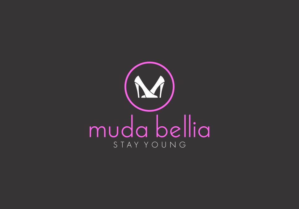 Portofolio Jasa Desain Logo retail sepatu & sandal Untuk muda bellia