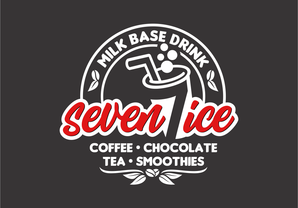 Portofolio Jasa Desain Logo ice buble & coffe untuk seven ice