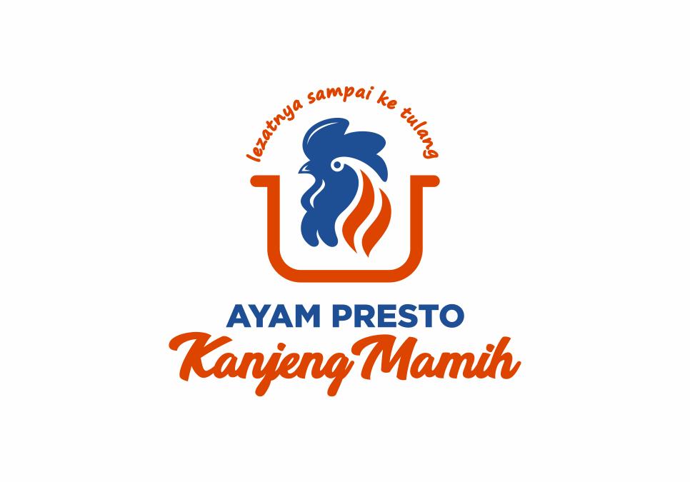 Portofolio Jasa Desain Logo Kuliner Untuk Ayam Presto Kanjeng Mamih