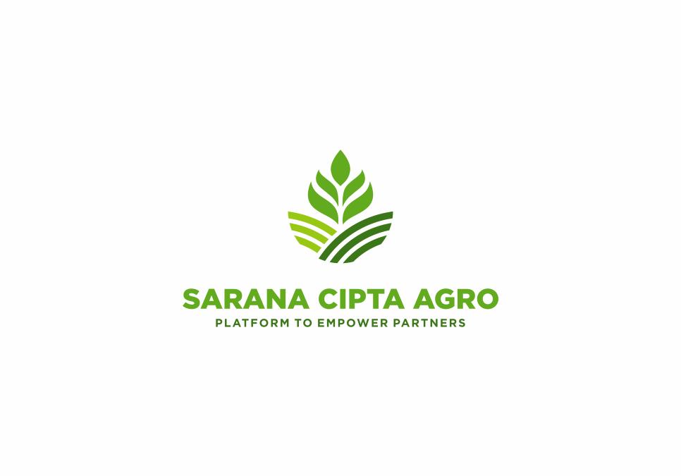 Portofolio Jasa Desain Logo Distribusi perlengkapan alat2 pertanian dan pertamanan Untuk CV Sarana Cipta Agro