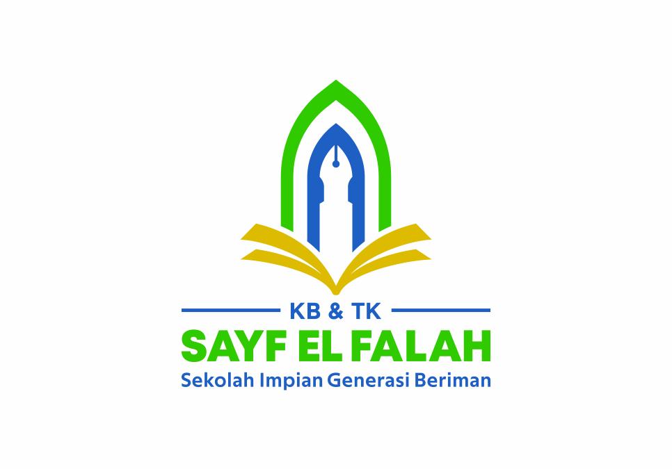 Portofolio Jasa Desain Logo Pendidikan (PAUD) Untuk KB & TK Sayf El Falah