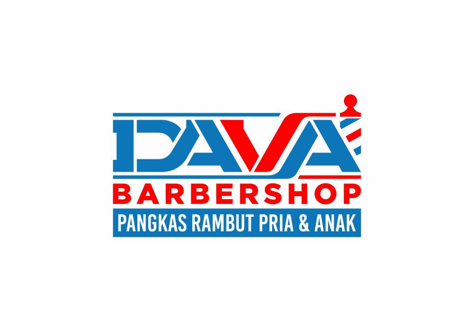 Portofolio Jasa Desain Logo pangkas Rambut pria & anak Untuk DAVA Barbershop