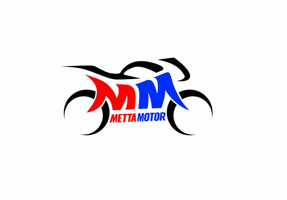 Portofolio Jasa Desain Logo jual beli motor /showroom motor Untuk METTA MOTOR
