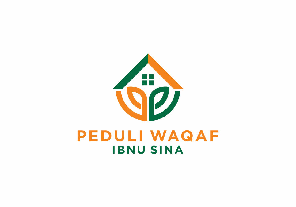 Portofolio Jasa Desain Logo Waqaf Untuk Peduli Waqaf Ibnu Sina