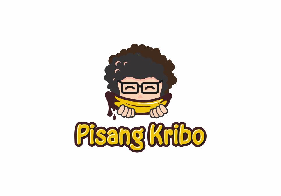 Portofolio Jasa Desain Logo Jual Pisang Goreng Krispi pake toppingan coklat keju dll Untuk Pisang Kribo