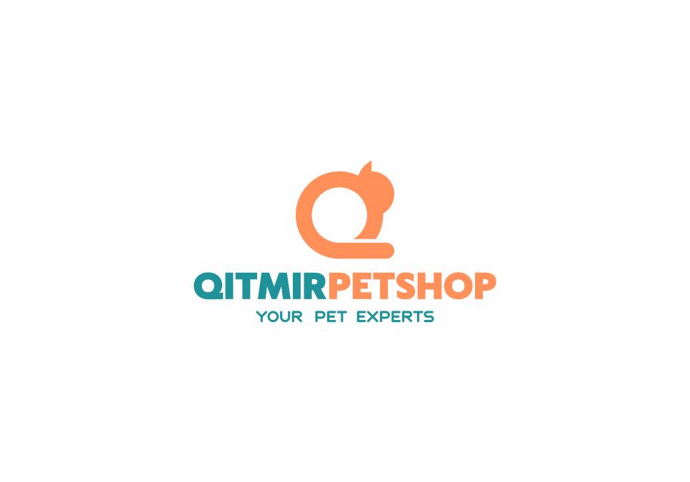 Portofolio Jasa Desain logo toko pakan obat-obatan dan asesoris hewan Untuk Qitmir Petshop