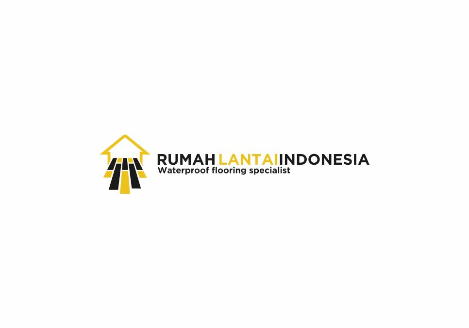 Portofolio Jasa Desain Logo Untuk Rumah lantai indonesia