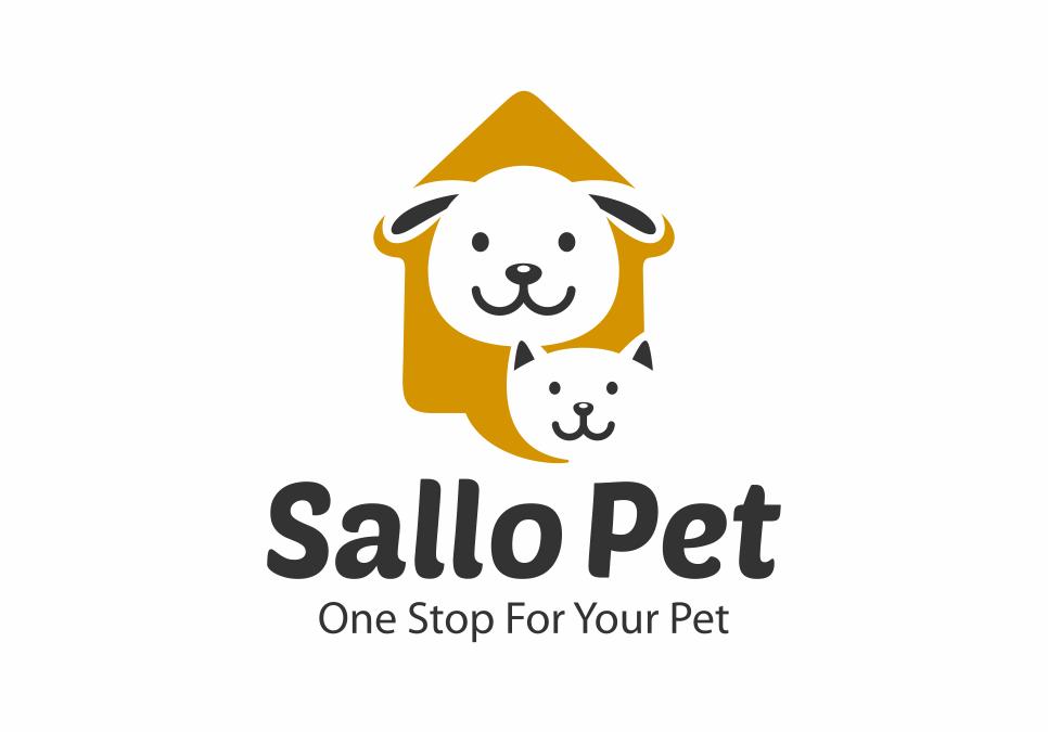 Portofolio Jasa Desain Logo Pet shop, salon hewan dan klinik hewan Untuk Sallo Pet