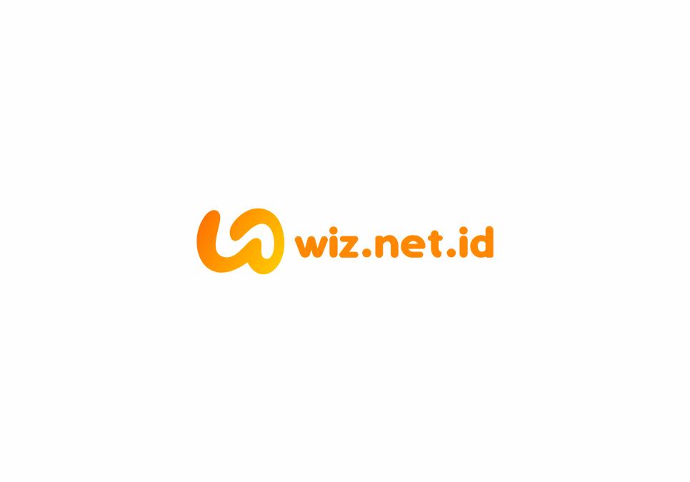Portofolio Jasa Desain Logo Internet Service Provider Untuk WIZ.NET.ID
