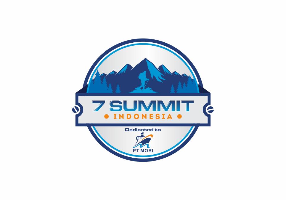 Portofolio Jasa Desain Logo Bongkar muat di pelabuhan Untuk 7 Summit Indonesia
