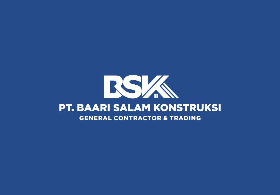 Portofolio Jasa Desain Logo Jasa Konstruksi / General Contractor Untuk PT. Baari Salam Konstruksi