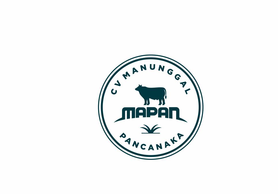 Portofolio Jasa Desain Logo Pengelola Kemitraan Sapi Perah Modern Untuk CV. Manunggal Pancanaka (MAPAN)