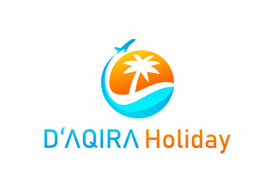 Portofolio Jasa Desain Logo Tour & Travel Untuk D'AQIRA HOLIDAY