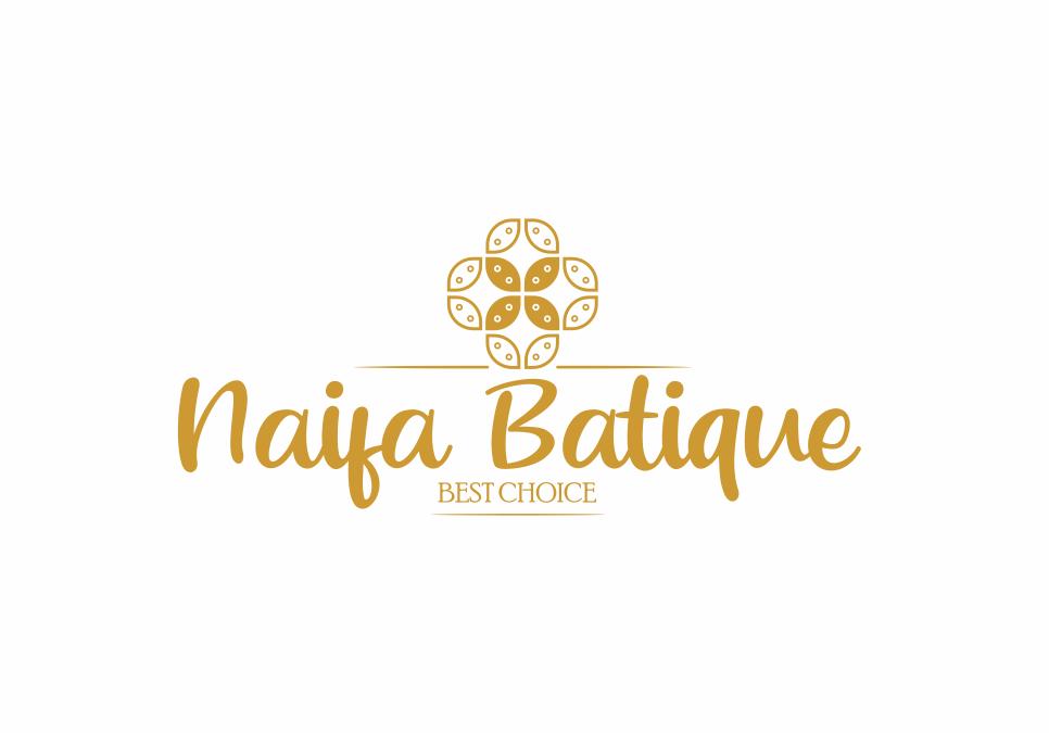 Portofolio Jasa Desain Logo ol shop khusus batik Untuk naifabatique