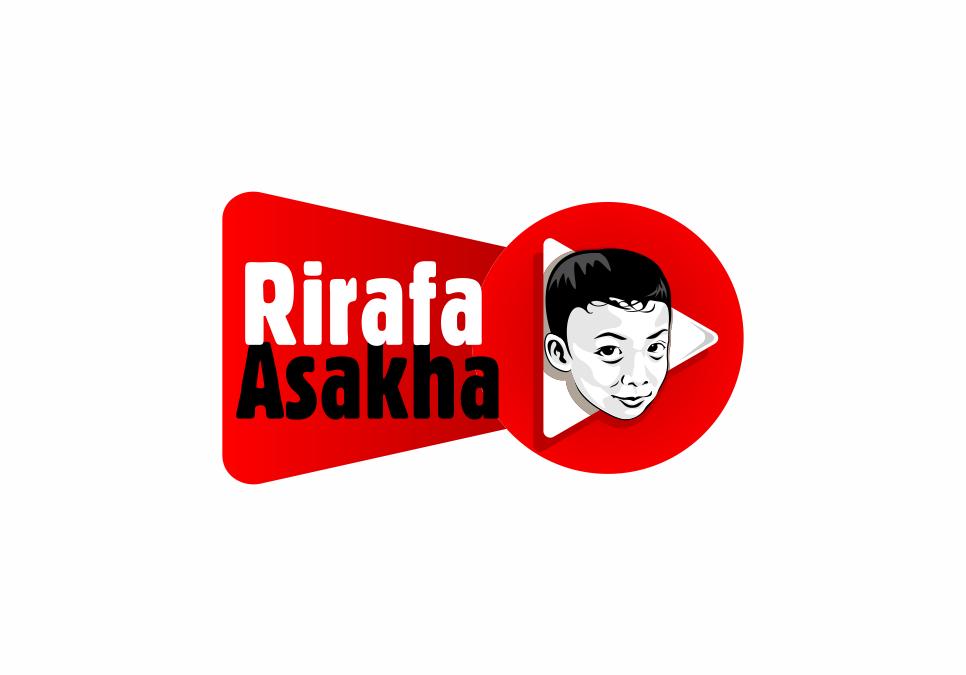 Portofolio Jasa  Desain Logo Chanel Youtube Anak Untuk Rirafa Asakha