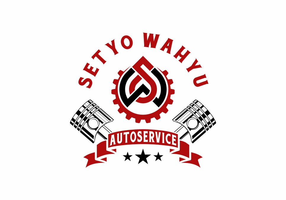 Portofolio Jasa  Desain Logo  otomotif Untuk setyo wahyu autoservice